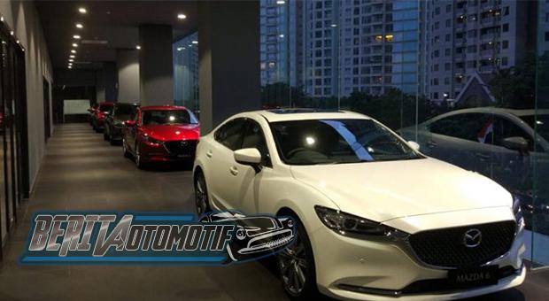 Ruang Bawah Tanah Dealer Mazda