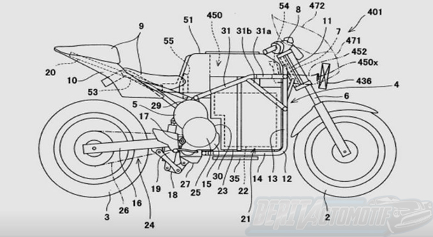 Kawasaki Ninja Menjadi Motor Listrik