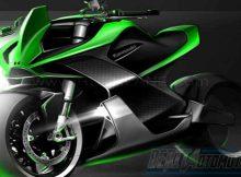 Kawasaki Ninja Motor Listrik