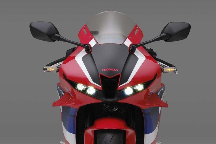 Honda CBR600RR Meluncur di Jepang